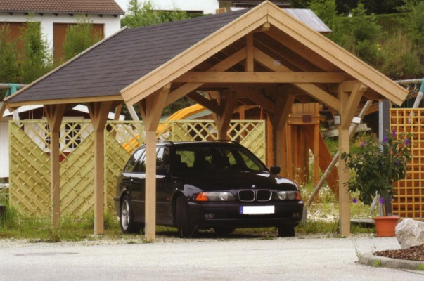 Wood Car Garage : Carport plans kris allen daily