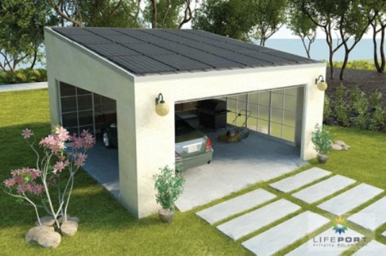 Carport plans kris allen daily for Solar powered home designs