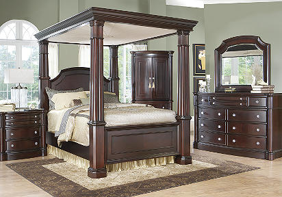 King bedroom set: Add a canopy | Kris Allen Daily