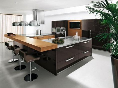 New kitchen design kitchen design i shape india for small for New kitchen designs 2012