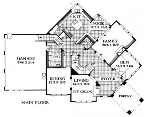 modern house design plan