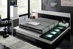 modern beds platform