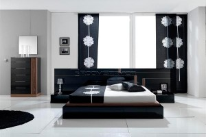 contemporary platform beds