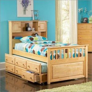 trundle bed with drawer