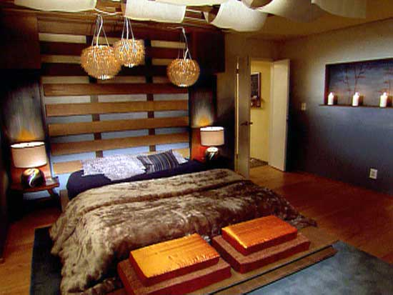 Bedroom with Japanese theme
