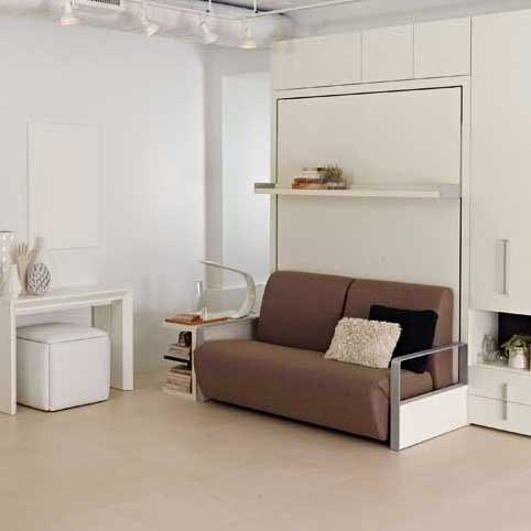 multi function standing bed furniture with a reclining sofa