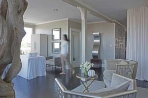 open terrace in the penthouse