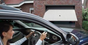 Example of Remote Controlled Garage Door