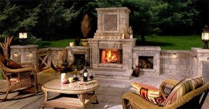 Outside Fireplace can make a Difference