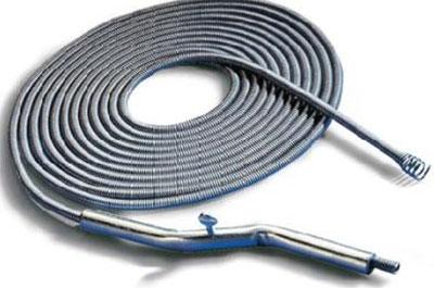 illustration of plumber snake