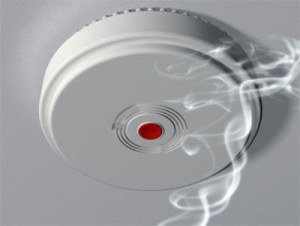 smoke detector illustration