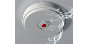 Smoke detector illustration