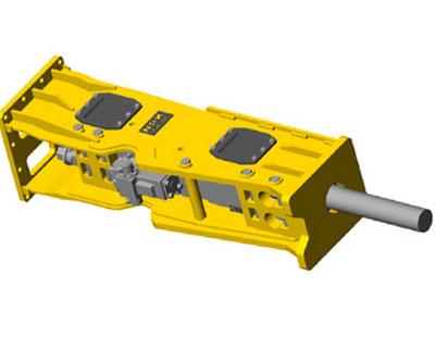 hydraulic breaker illustration
