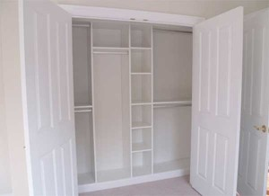 Built in closet organizers picture