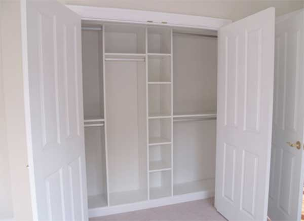 Built in closet organizers picture