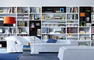 Wall Shelving design