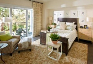 Airy and Relaxing Bedroom example