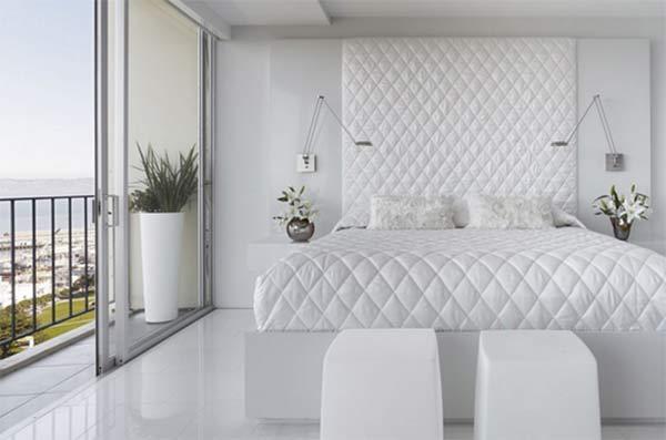 All White Bedroom photo