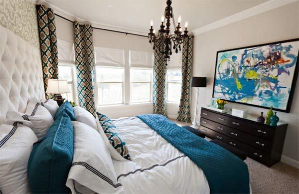 Cozy French Bedroom photo