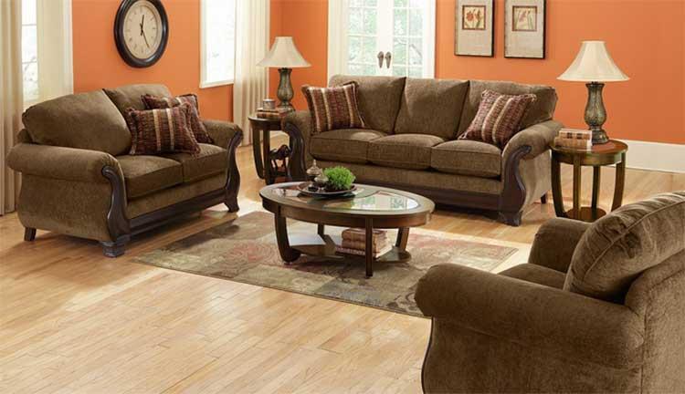 Use same color tone furnitures