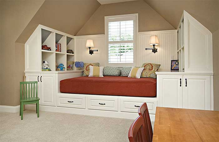 bedroom focal point