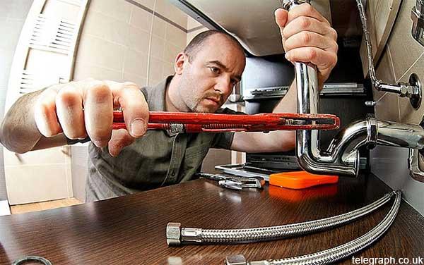 plumber illustration