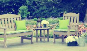 Add lawn furniture to your yard