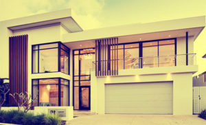 luxury home illustration