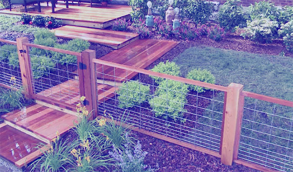 backyard fencing ideas