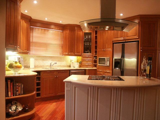 Kitchen Cabinets Set Up