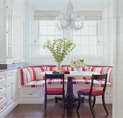 Banquette Seating Can Increase Your Mood