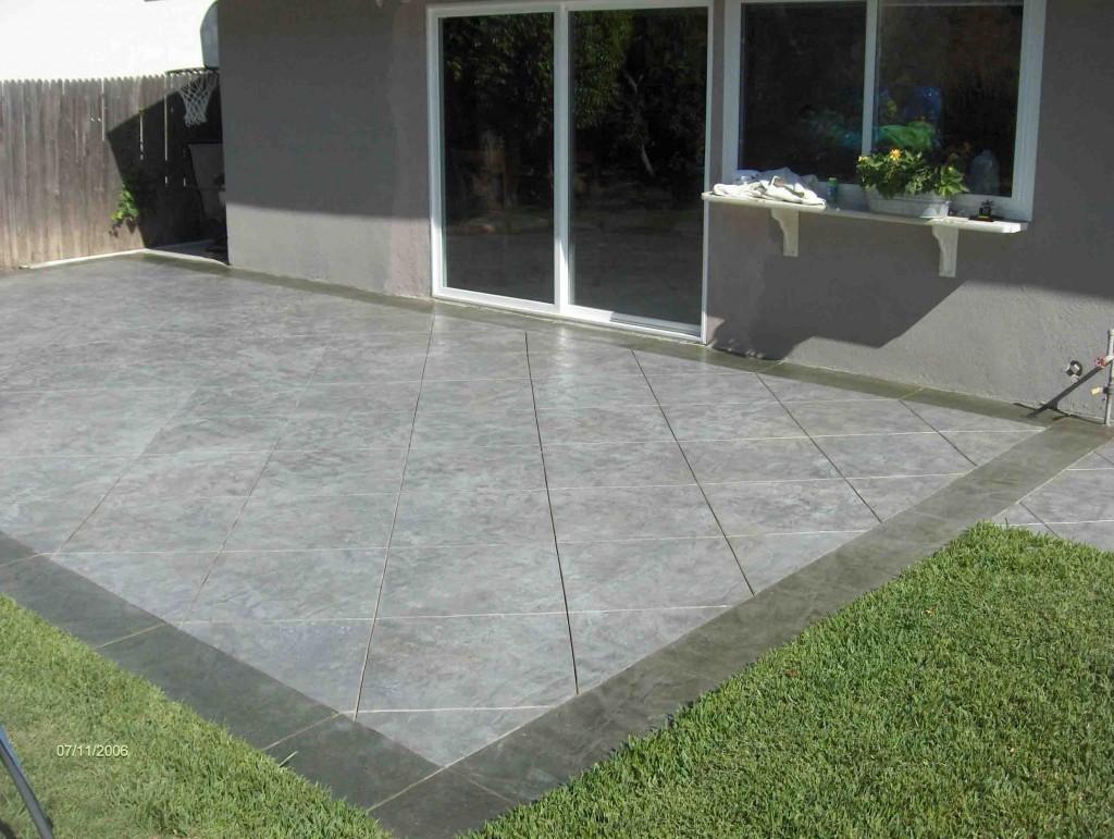 Patio design kris allen daily for Modern car porch tiles design
