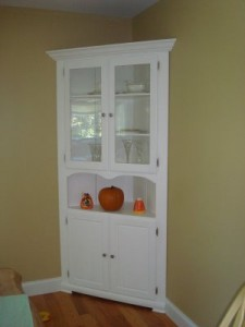 Dining room corner hutches | Kris Allen Daily