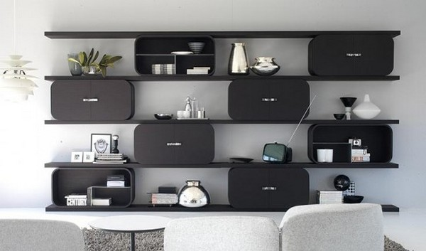 Awesome Bedroom Shelving Units