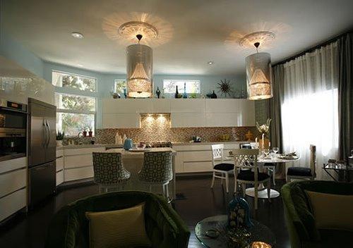 Art Deco Kitchen Lighting