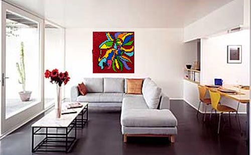 Living room art painting for best decoration | Kris Allen Daily