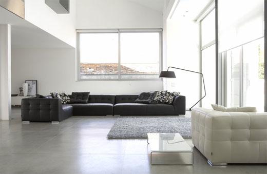 Minimalist living room kris allen daily for Minimalist townhouse design